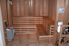 A Look at a Custom Made Sauna